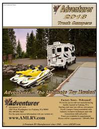 2018 ALP Adventurer Truck Campers Brochure | Download RV Brochures 2016 Adventurer Truck Campers Eagle Cap 1160 Youtube Review Of The 2012 Wolf Creek 850 Camper Adventure 2014 Alp Brochure Rv Brochures Download 2018 1165 Eugene Or Rvtradercom Recreationalvehiclesinfo 2007 Launches Tripleslide Business Albertarvcountrycom Dealers Inventory 2010 Calgary Ab Us 2299000 Stock Number In Bed For Pickup Trucks Photos Big Rig This Popup Camper Transforms Any Truck Into A Tiny Mobile Home In