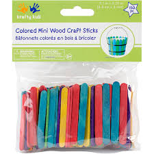 Mini Craft SticksColored 2125