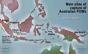 Sinking Islands In The South Pacific by Australian Prisoners In The Asia Pacific The Anzac Portal
