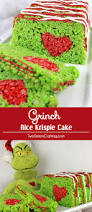 Rice Krispie Christmas Tree Treat Recipe by Grinch Rice Krispie Cake Two Sisters Crafting