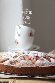 Rustic German Plum Cake Recipe