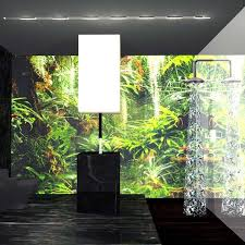 forest new bathroom concept