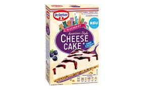 kuchen und backmischungen gold dr oekter cheesecake