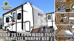 100 Used Airstream For Sale Colorado USED 2017 ROCKWOOD 1905 TRAVEL TRAILER Murphy Bed Mini Lite RV S Greeley