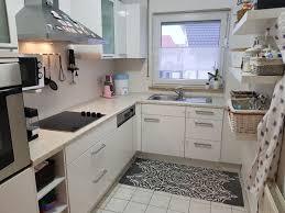 küche l form weiß hochglanz inkl geräte in 74336