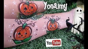 Minnie Mouse Painted Pumpkin by Calabazas De Halloween Para Pintacaritas Pumpkin Face Painting