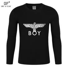 CIP Winter Full Sleeves Tshirt Men 100 Cotton London Style Clothing Mens Tee Shirts Long
