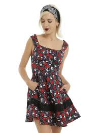 purple u0026 red skull rose dress topic