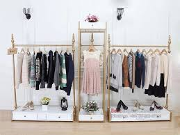Wardrobe Racks Retail Clothing Rack Boutique Display Previous GR069 Fashion Shopfitting Shop