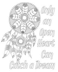 Quote Coloring Pages Of Dream