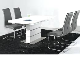 4 Chair Dining Table Set Chairs On Simple High Gloss To Enlarge