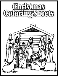 Adult Christian Christmas Printable Coloring Pages For Christianchristian Page Extra Medium Size