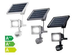 livarno projecteur solaire avec détecteur d lidl