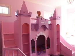 unique princess bunk bed with slide castle beds or play inside