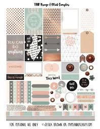 Elegant Scrapbook Designs Printable Stickers Love
