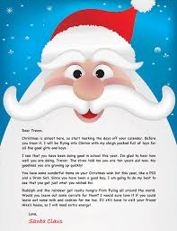 Letter From Santa Template …