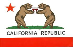 California Bear Flag Wine Bears