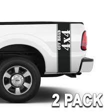 100 Truck Bed Decals 4x4 OFF ROAD Side Band Stripes Set Of 2 Right Wing
