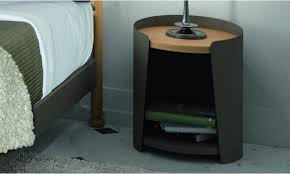 chevet chambre adulte table de chevet chevet métal et bois couleur brun chambre adulte