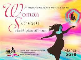 International Call For Event Coordinators Of Woman Scream Festival 2018