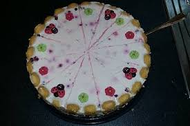 fettarme kirsch joghurt torte