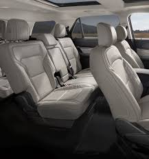Ford Explorer Captains Chairs Second Row by 2018 Ford Explorer Suv Features Ford Com