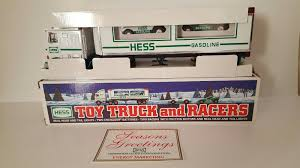 Hess 1997 Toy Truck With 2 Racers | EBay Used Fire Trucks Ebay Excellent Hess Truck And Ladder Toy Tanker 1990 Ebay Helicopter 2006 Unique Old Component Classic Cars Ideas Boiqinfo Race 2003 Miniature 1998 With Lights 1988 Car Antique Toys A Nice Tonka Fisherman With Houseboat 1995 Gasoline Tractor Trailer Racecars 2015 Is The Best Yet No Time Mommy Value Of Collectors Resource