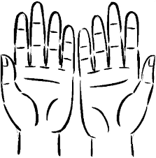Hands Anatomy Colouring Page Coloring