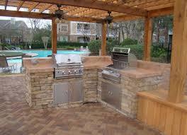 Budget Kitchen Island Ideas by Sensational Outdoor Kitchen On A Budget Kitchen Designxy Com