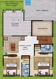 Metal 40x60 Homes Floor Plans by Bougainvillea Villas By Infrany Ventures