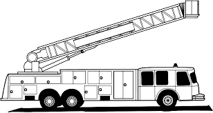 Good Coloring Pages Fire Truck With 16