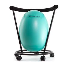 Safco 4750 Zenergy Ball Chair by Exercise Ball Chair Base With Wheels Home Chair Decoration
