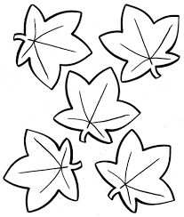 Simple Leaf Coloring Pages Colorings Within
