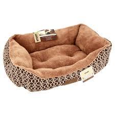 Heated Dog Beds Walmart by Stuft Urban Lounge Pet Bed Medium Brown Walmart Com