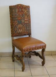 Southwestern Sunset Dining Chair: Western Passion