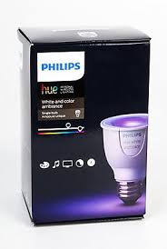 philips led 6 5w par16 hue single bulb the home depot canada