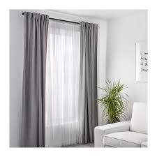 Ikea Sanela Curtains Brown by Lill Lace Curtains 1 Pair White Net Curtains Bedrooms And