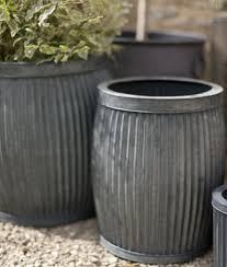 Architecture Decorative Metal Garden Planters Design With