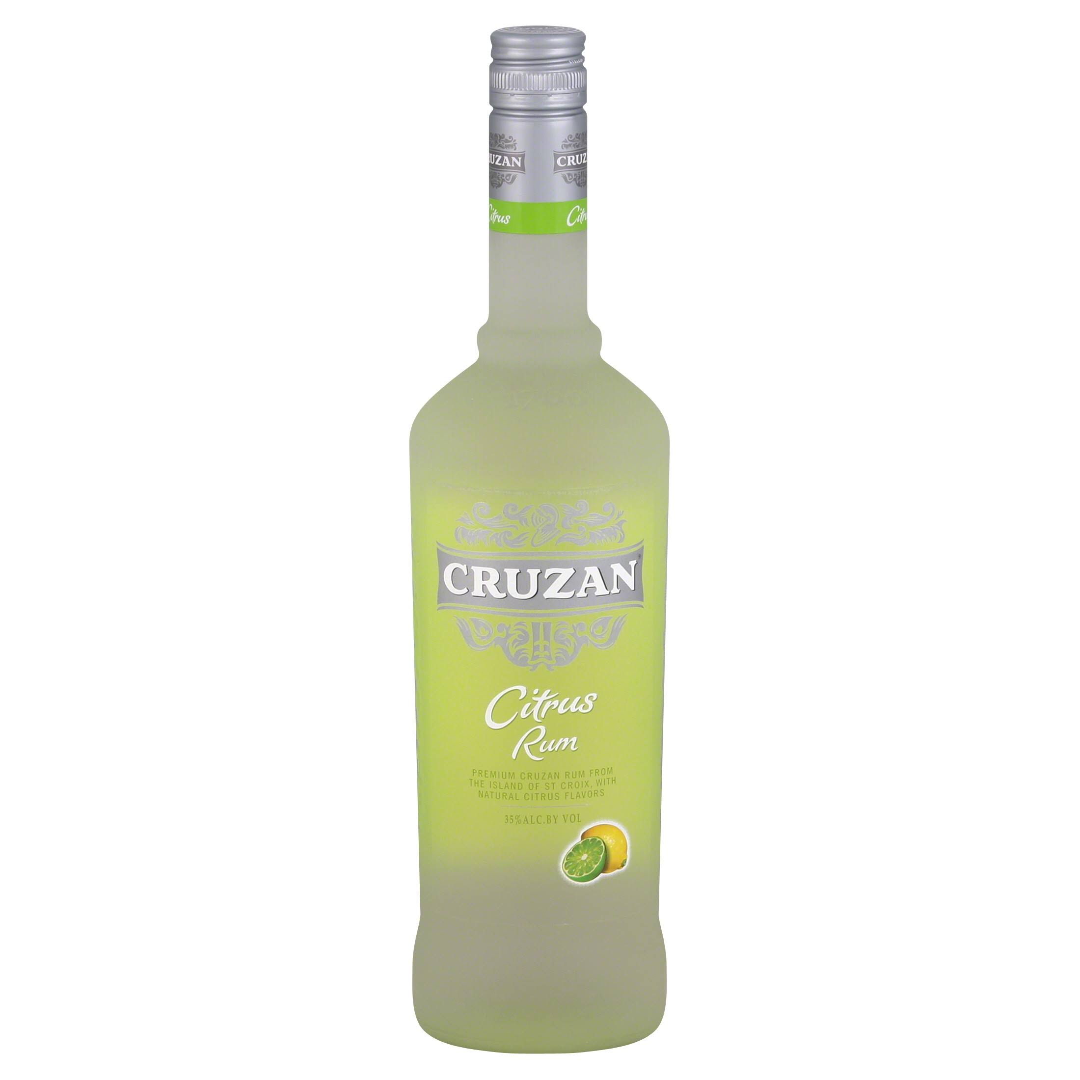 Cruzan Rum, Citrus - 750 ml