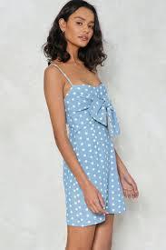like it or knot polka dot dress shop clothes at nasty gal