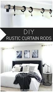 Curtain Rod Extender Diy by Best 25 Curtain Rods Ideas On Pinterest Bedroom Window