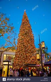 Christmas Tree At The Grove Los Angeles California USA