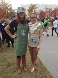 Costumes Fast Forward To 2018 And I Was A Cup Of Coffee This Is The Easiest Diy Starbucks