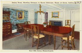 FileDining Room Showing Entrance To Secret Staircase House Of Seven Gables