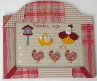 Here With Hens Theme Art Craft Decoration