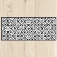 tapis de cuisine côté paillasson