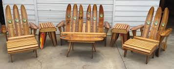 Ski Daddle Recycled Waterski Chairs Patio Furniture Outdoor