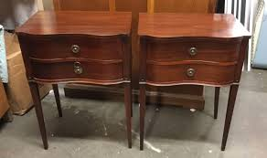 GREAT PAIR SERPENTINE FRONT 1940S MAHOGANY END TABLES ... 1940s Chinoiserie Mahjong Card Table Set 5 Pieces At 1stdibs Kitchen Design Lovetoknow Wooden Poker Chairs Antique Rare Vintage Set Of 4 Stakmore Folding Chairscarved Whiskey Barrel Back Swivel Base Exceptional Brassinlaid Or Gaming In The Neoclassic Manner Vintage 1940s Club Chair Expanding Tables Grow To Suit Needs Trader Why Phillipe Starcks Ghost Chair Is Here For Eternity Pair Armchairs Easy Attributed Jean Royere