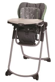 Graco® Slim Spaces™ High Chair In Trendy Green And Grey ...