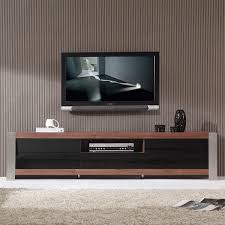 Manhattan Comfort Cabrini TV Stand And Floating Wall TV Panel With LED Lights 22